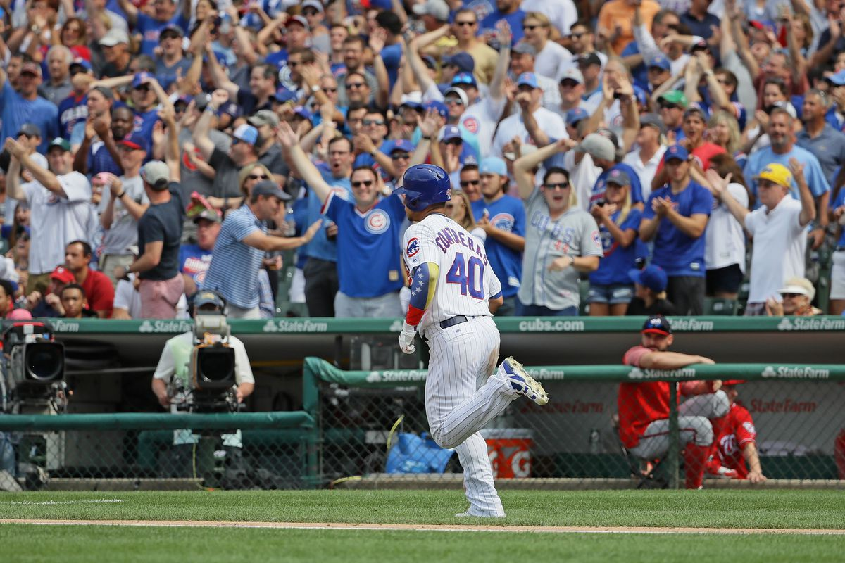 Cubs find winning formula in victory against Nationals