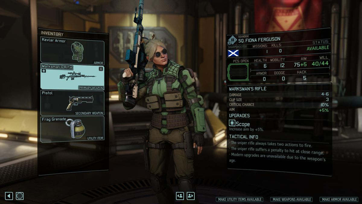 XCOM 2: War of the Chosen Tactical Legacy Pack - inventory and unlocks in character customization