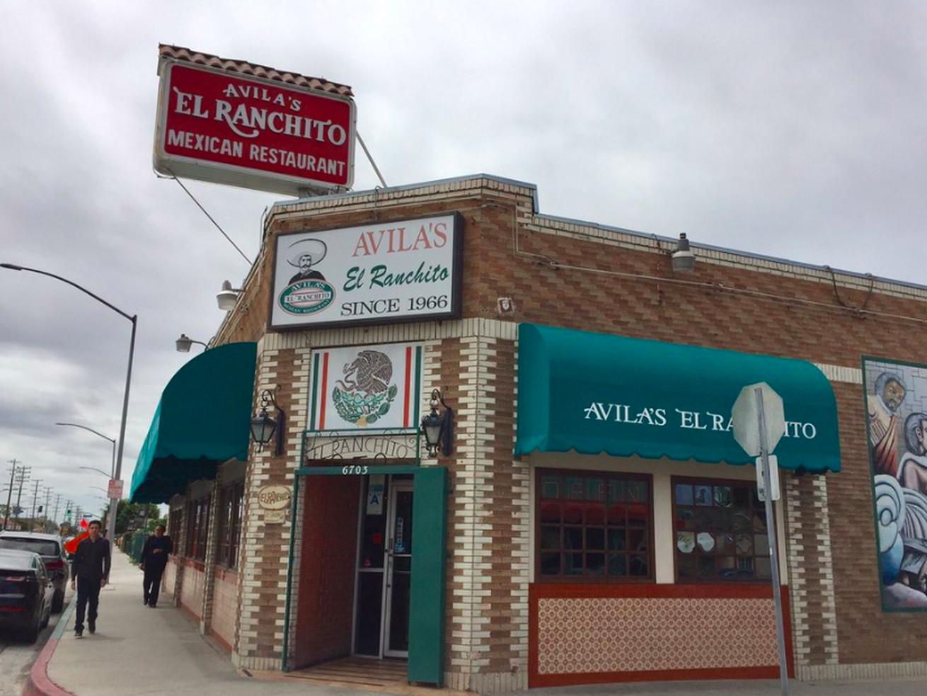 Avila's El Ranchito Huntington Park