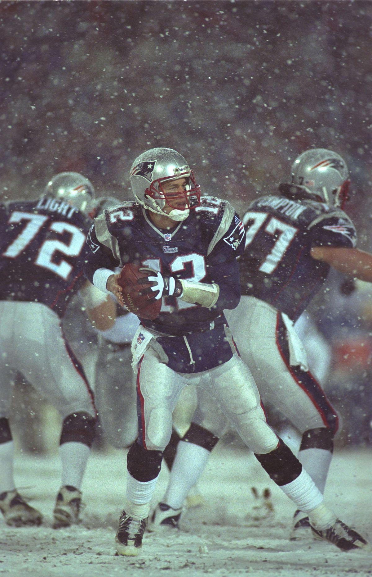 NFL 2002: Patriots vs Raiders
