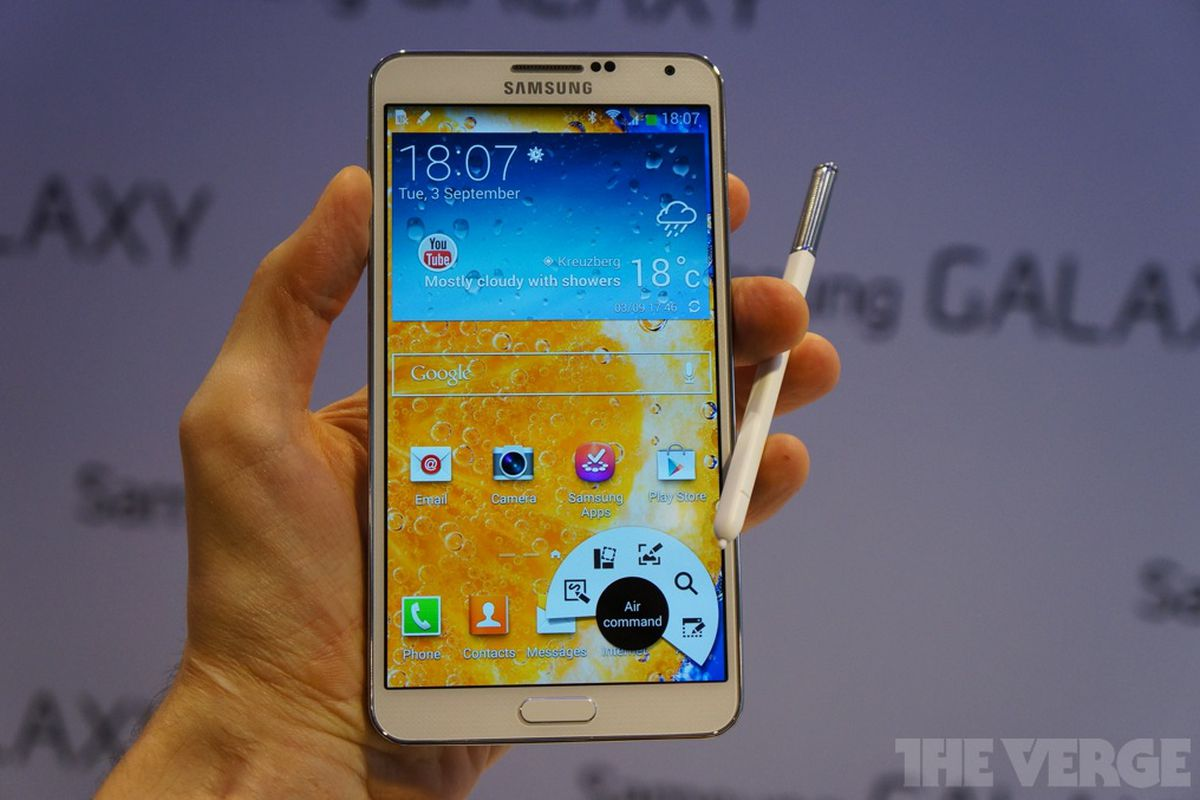 2afbd1ace Samsung s Galaxy Note 3 is bigger