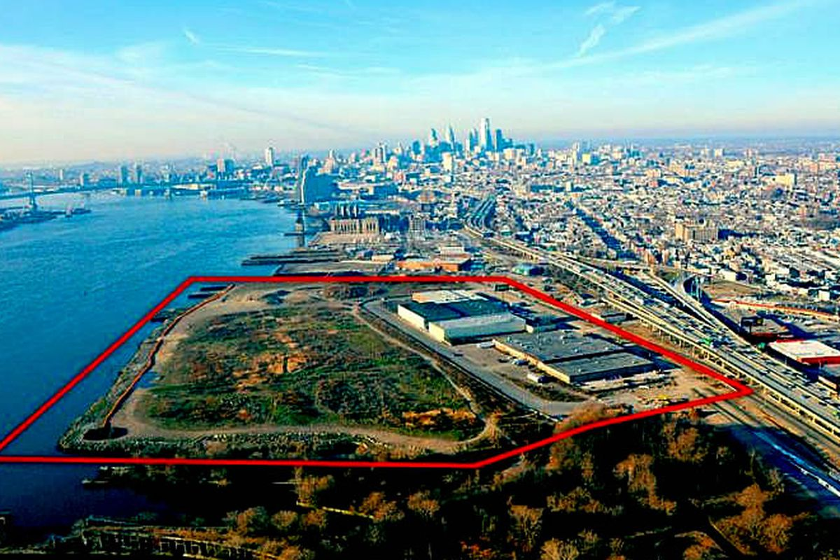 Aerial view of proposed Wynn casino.