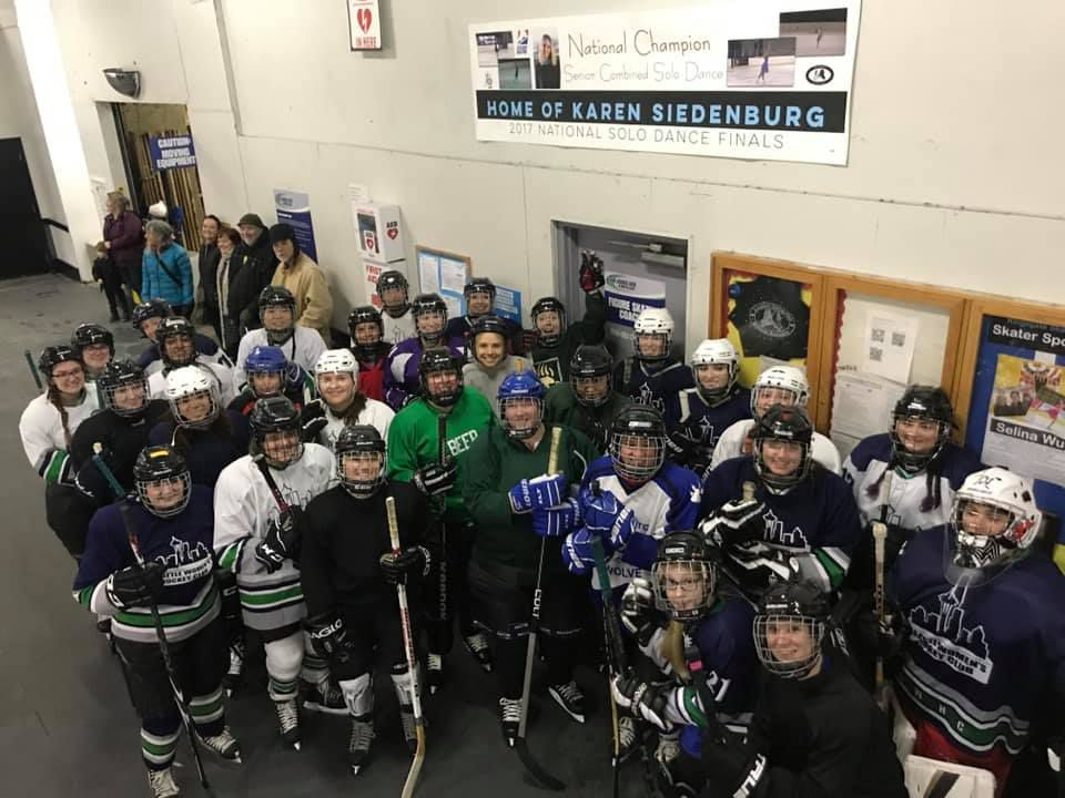 SWHC Try Hockey for Free participants