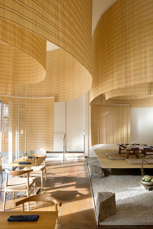 Kengo Kuma Fills Portland Restaurant With Delicate Bamboo