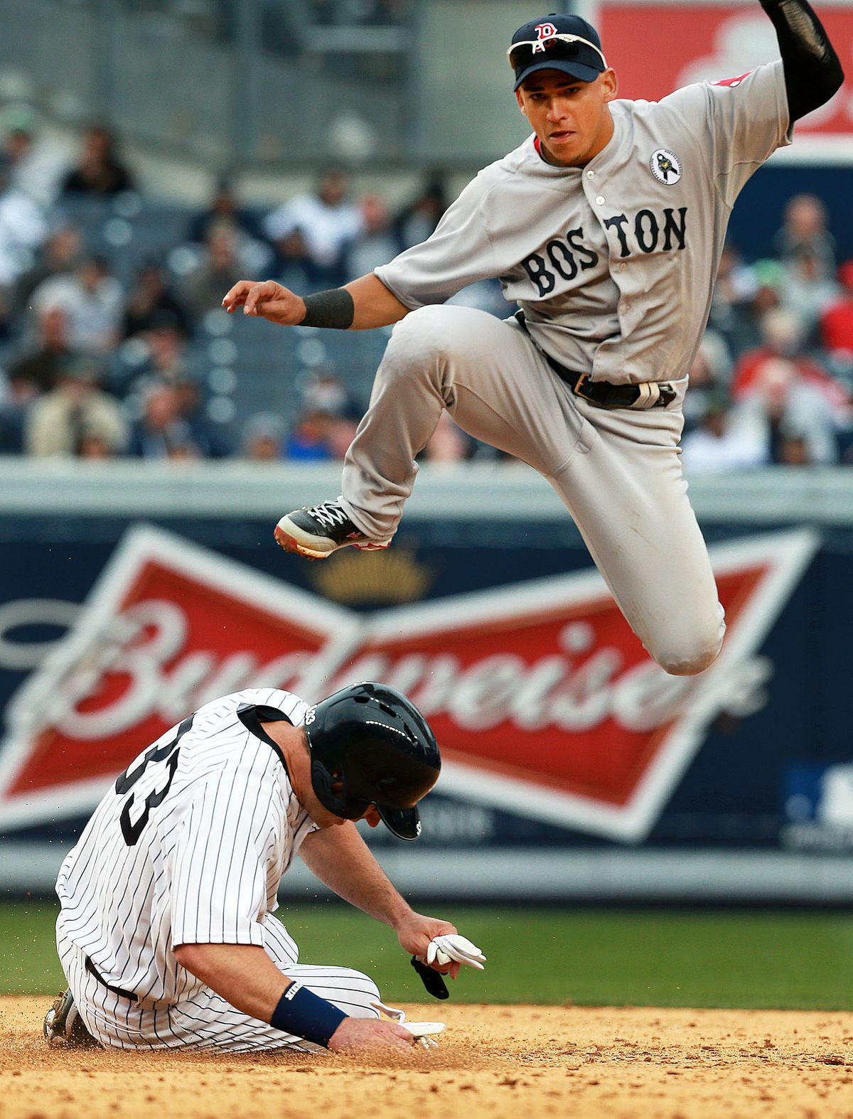 Boston Red Sox Vs. New York Yankees At Yankee Stadium
