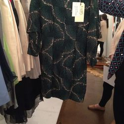 Beaded Dress, $375