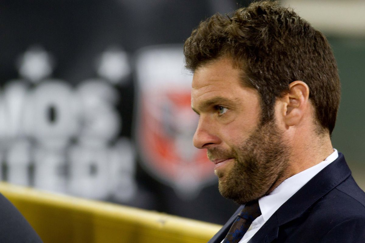 Tonight's Open Cup loss for D.C. United had Ben Olsen fuming.