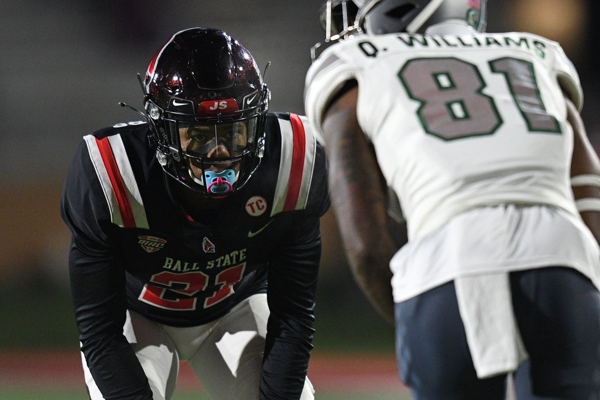 COLLEGE FOOTBALL: NOV 11 Eastern Michigan at Ball State