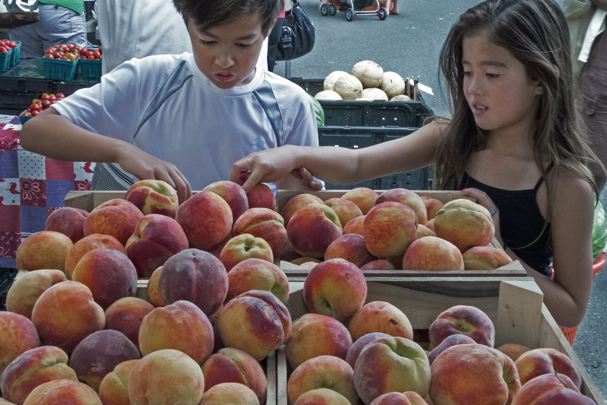 Despite the awesomeness of fresh peaches, farmers' market growth is slowing down.