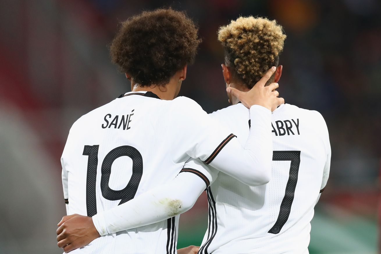 """An all-German winger duo"""" Bayern Munich president Uli Hoeness wants Leroy Sane to complete the set"""