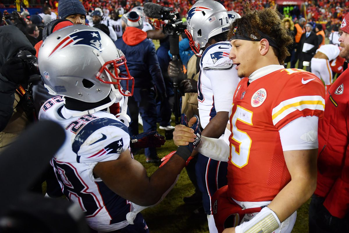 Patriots Vs Chiefs Could Be The Next Great Rivalry Of The Afc Pats Pulpit