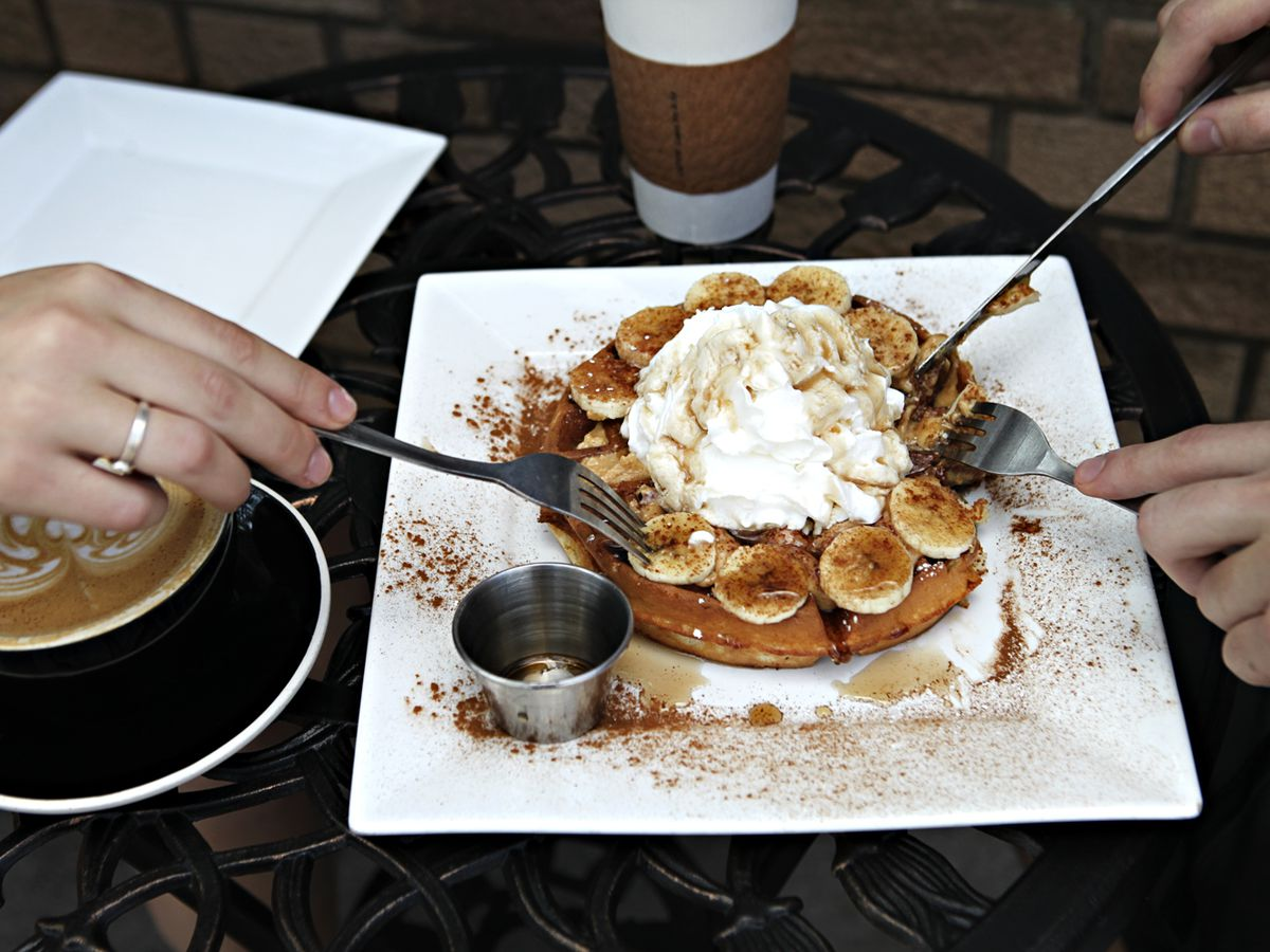 Black Coffee And Waffle St Paul