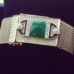 Art Deco Collection bracelet with magnetic closure, $385