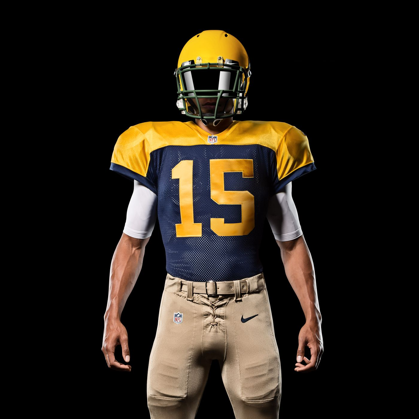 Packers Throwback Jersey: New 'Classic' uniforms on display in ...