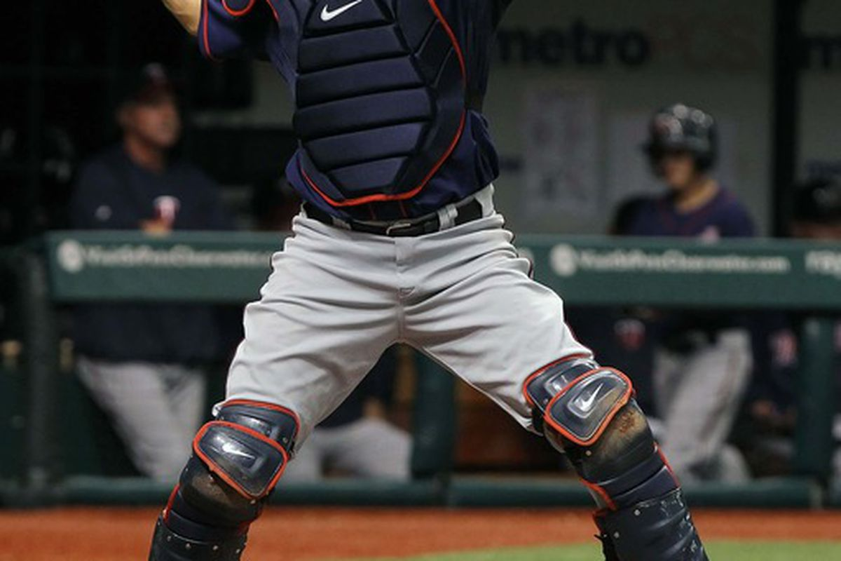 There is no Joe Mauer in this year's draft. But there is a highly-ranked catcher.