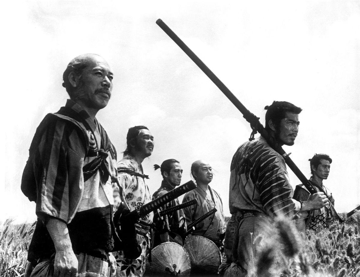 'Seven Samurai,' 1954(Toho)