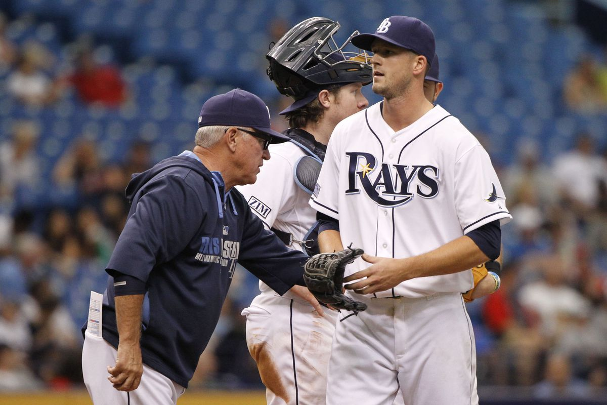 Drew Smyly has pitched his last game of the season.
