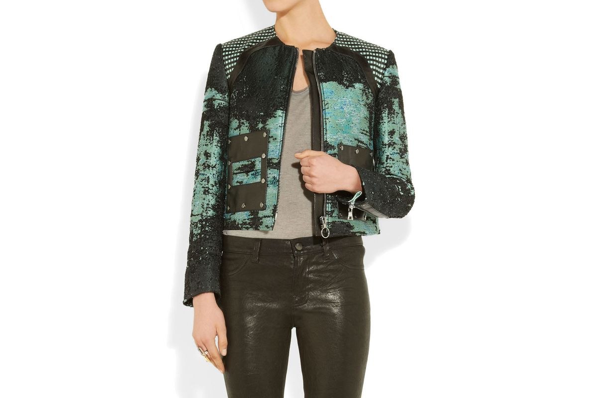 """Tweed jacket by Proenza Schouler, $690 (was $3,450) at <a href=""""http://www.theoutnet.com/product/349513"""">The Outnet</a>"""