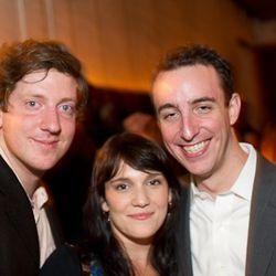 Wine guy Brandon Barton, Eater NY editor Amanda Kludt, and Eleven Madison Park svengali Will Guidara.