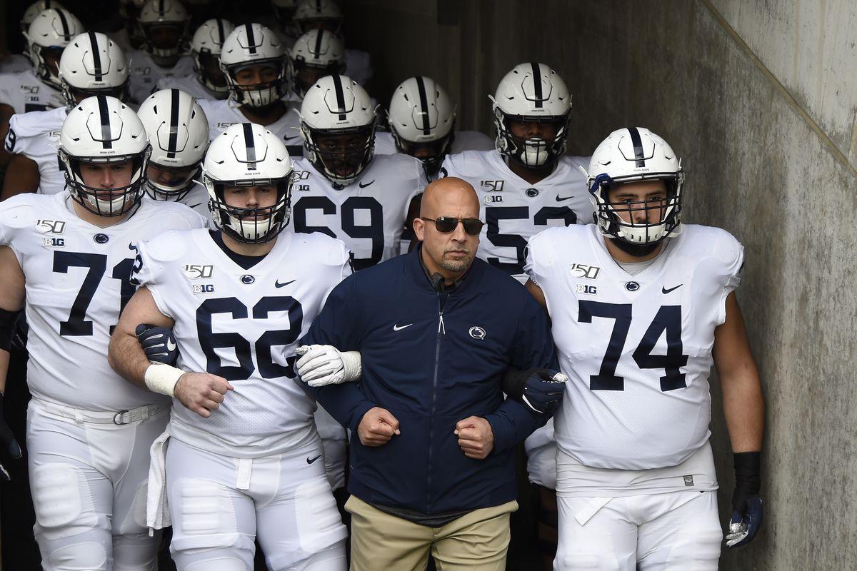 Penn State Depth Chart Week Ten: Indiana