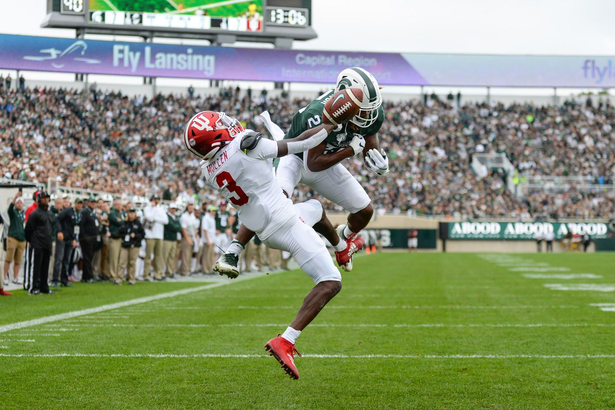 COLLEGE FOOTBALL: SEP 28 Indiana at Michigan State