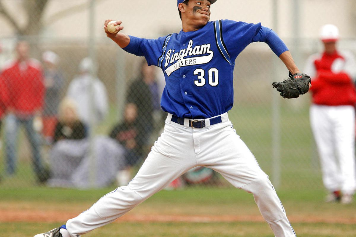 Bingham/ Spanish Fork during prep baseball in Spanish Fork  Thursday, March 29, 2012.