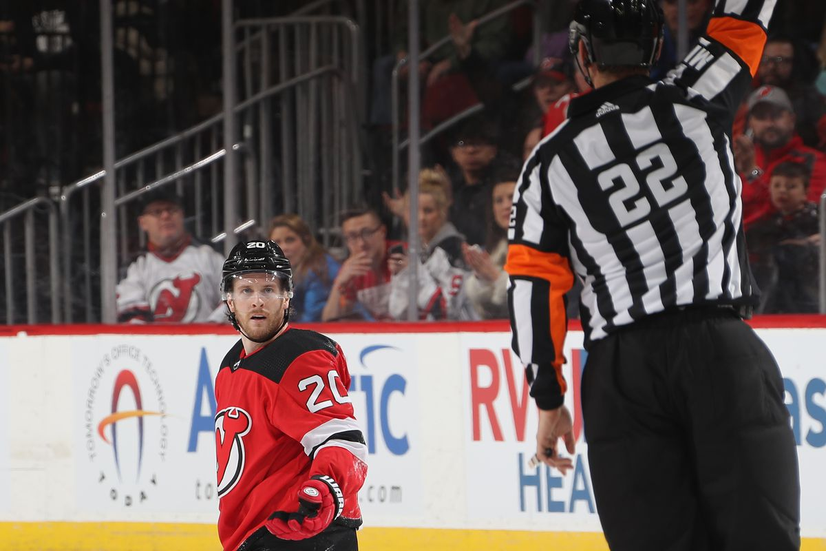 When Pickles Puts the Devils in a Pickle  A Look at Blake Coleman s  Penalties 24e6b8865