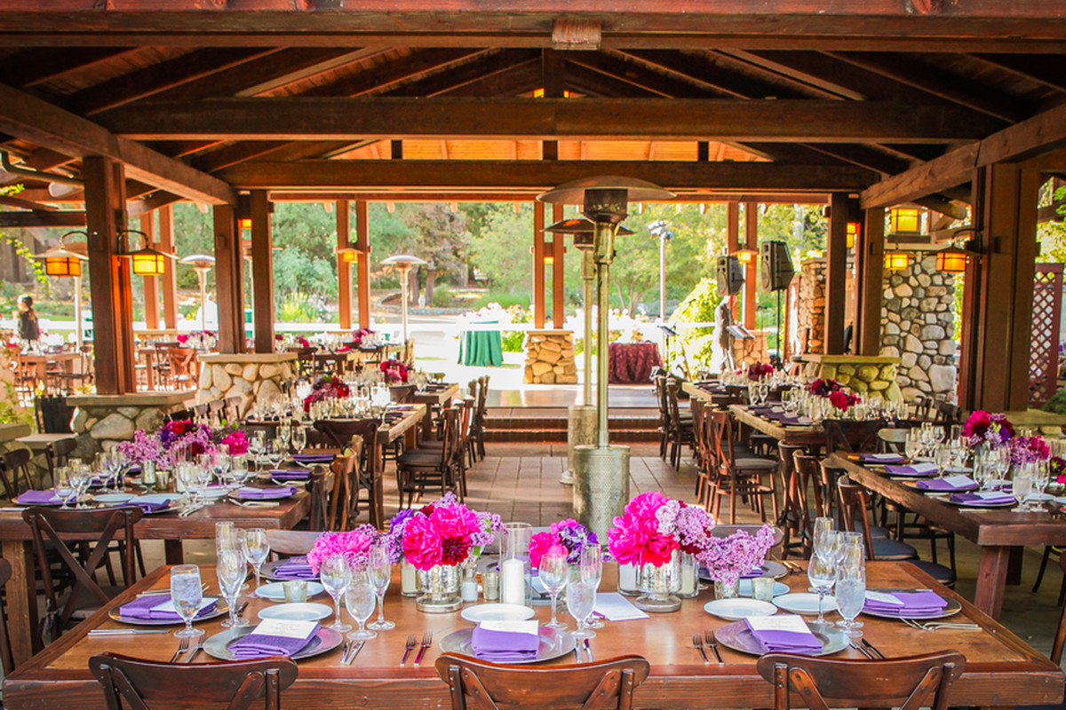 patina catering at descano gardens in la county patina
