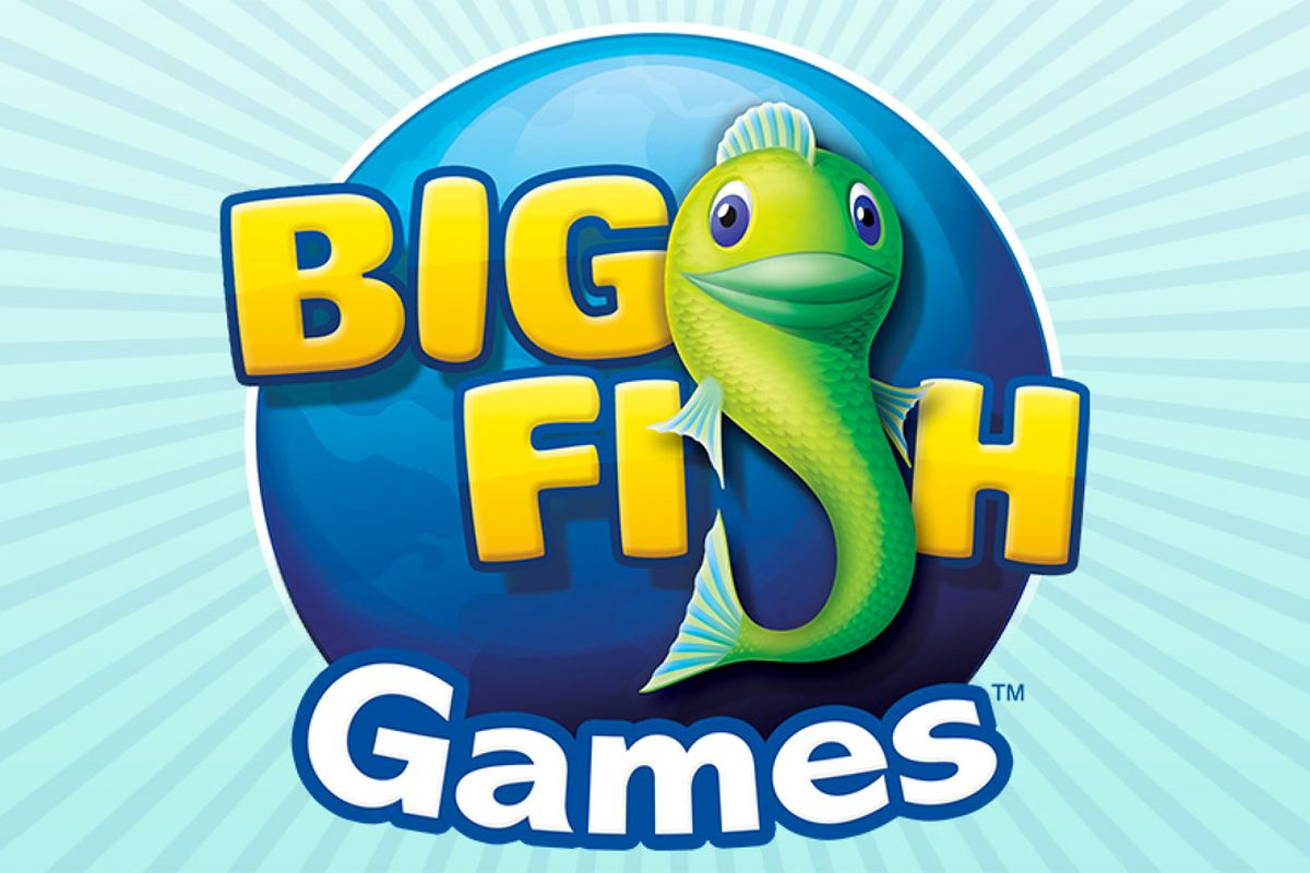 Big fish now supports bitcoin for all its online games for Big fish menu