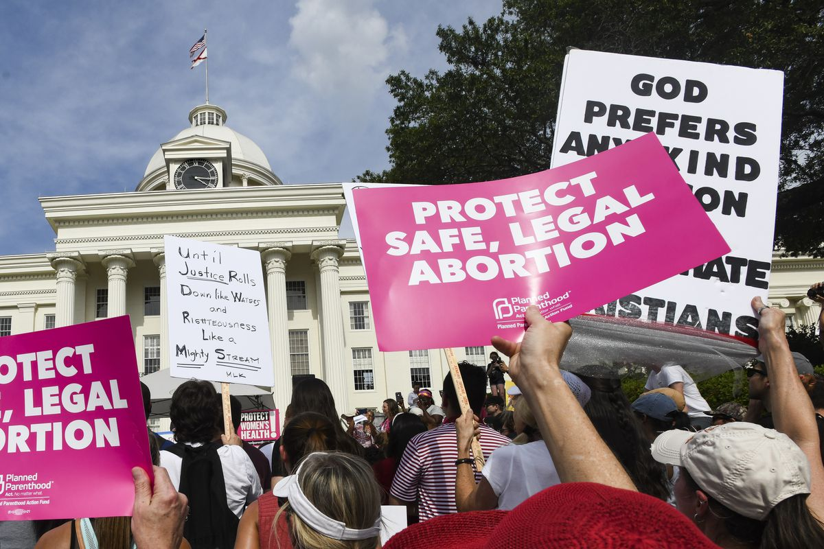 Image result for Governor releases statement after federal judge temporarily blocks Mississippi abortion law
