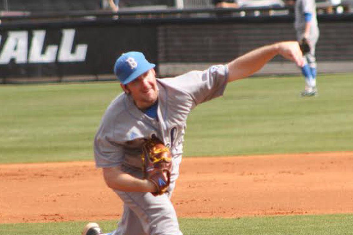 UCLA's southpaw, Grant Watson