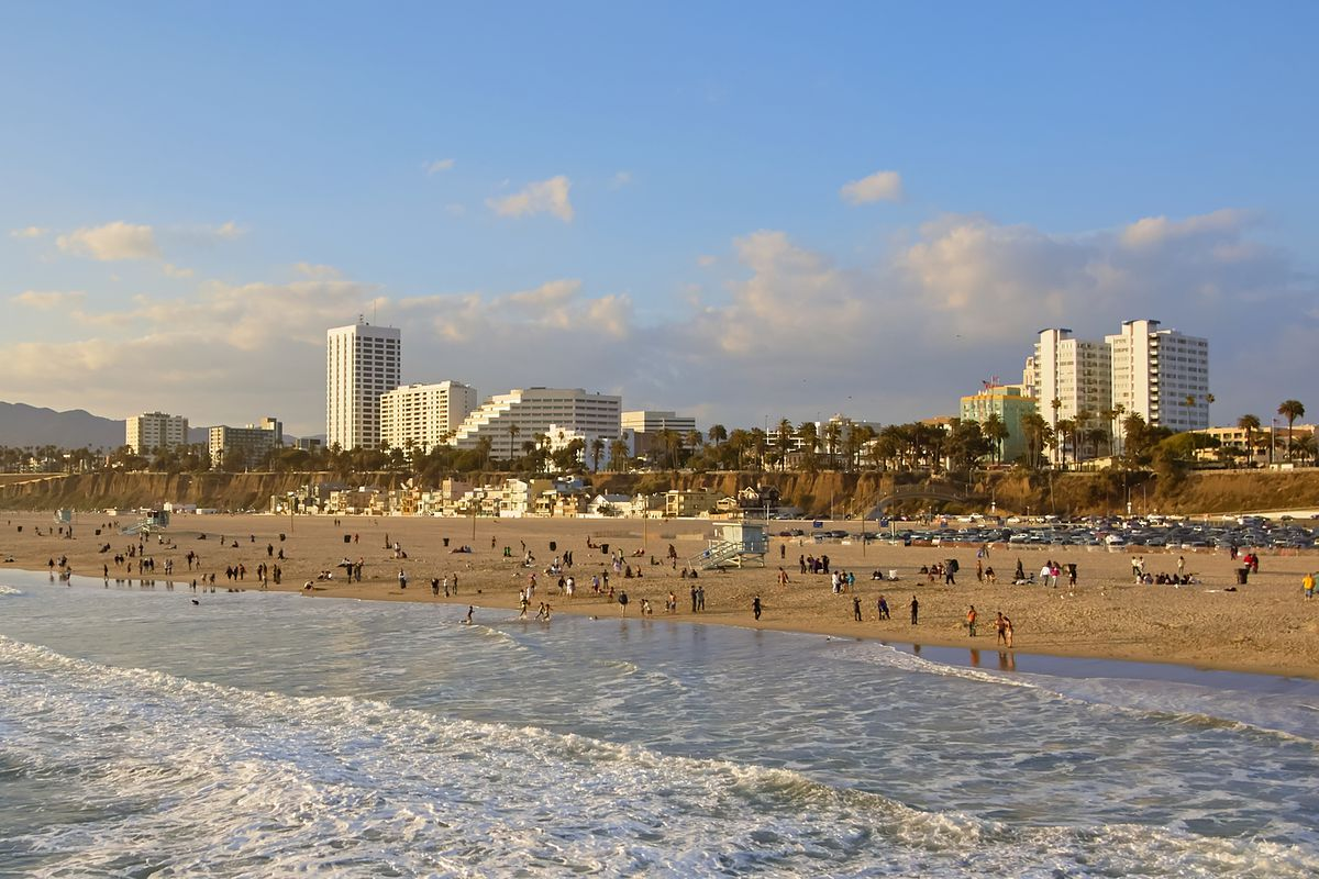 View of Santa Monica