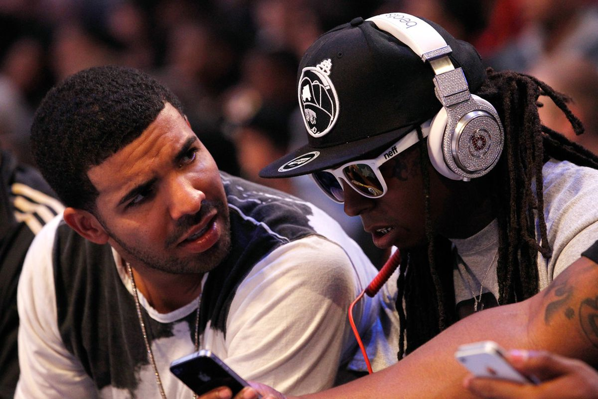 Will St. John's make the Tournament, Drake asks Weezy. Weezy hits refresh on his favorite SB Nation site, looking for Rutgers' chances.