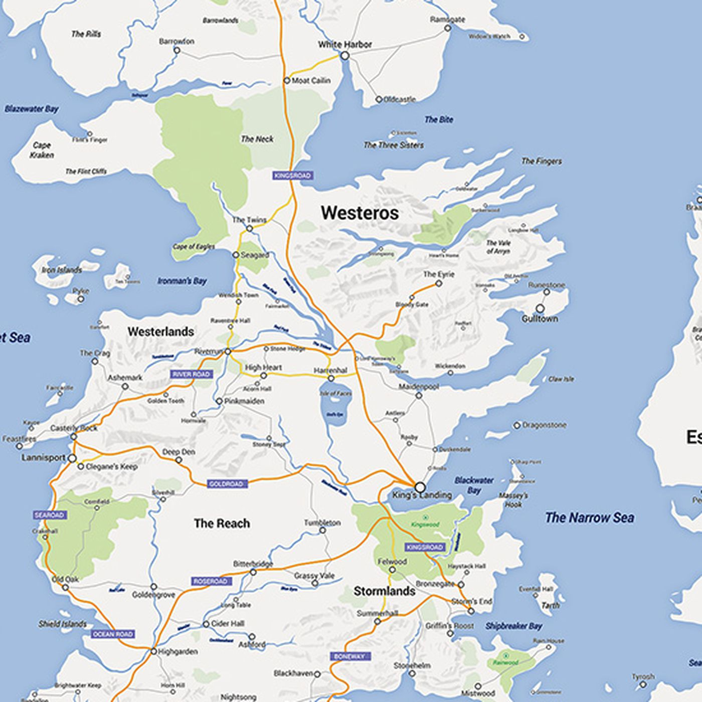 Someone made Game of Thrones into a Google map, and it's ... on walking dead map, winterfell map, a game of thrones, fire and blood, justified map, a clash of kings, narnia map, a storm of swords, gendry map, themes in a song of ice and fire, got map, jericho map, the prince of winterfell, downton abbey map, lord snow, the kingsroad, works based on a song of ice and fire, dallas map, a game of thrones: genesis, clash of kings map, sons of anarchy, camelot map, qarth map, world map, bloodline map, a storm of swords map, tales of dunk and egg, game of thrones - season 2, a golden crown, star trek map, spooksville map, guild wars 2 map, game of thrones - season 1, a game of thrones collectible card game, jersey shore map, the pointy end, valyria map, winter is coming,
