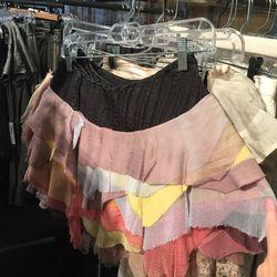 Layered multi skirt, $300