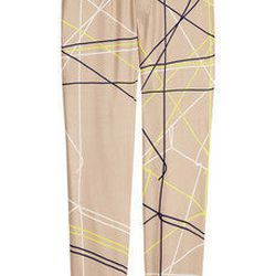 """<a href=""""http://www.net-a-porter.com/product/194216"""">Piamita Grace printed silk pants</a> , $130 (was $260)"""