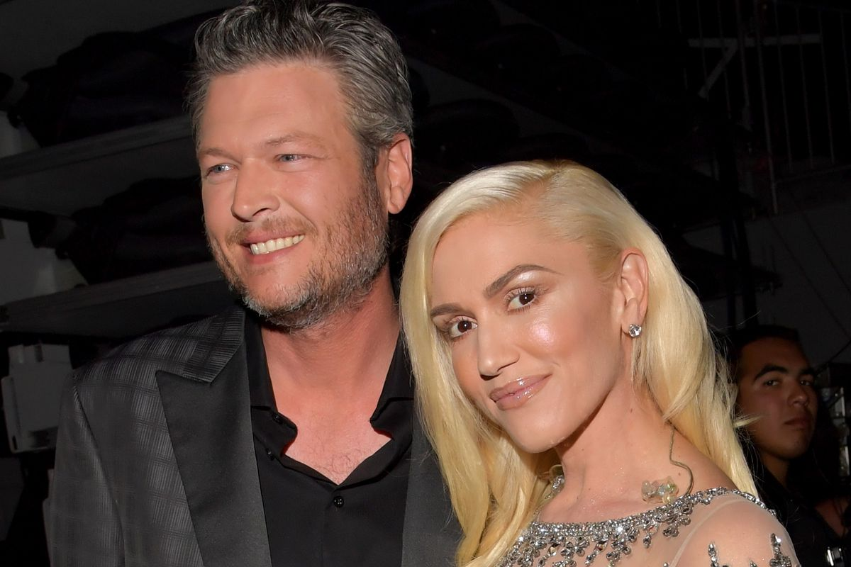 Blake Shelton and Gwen Stefani at the 2016 Billboard Music Awards. Photo: Lester Cohen/Getty Images