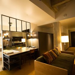 The environment feels homey, rustic and modern all at once.