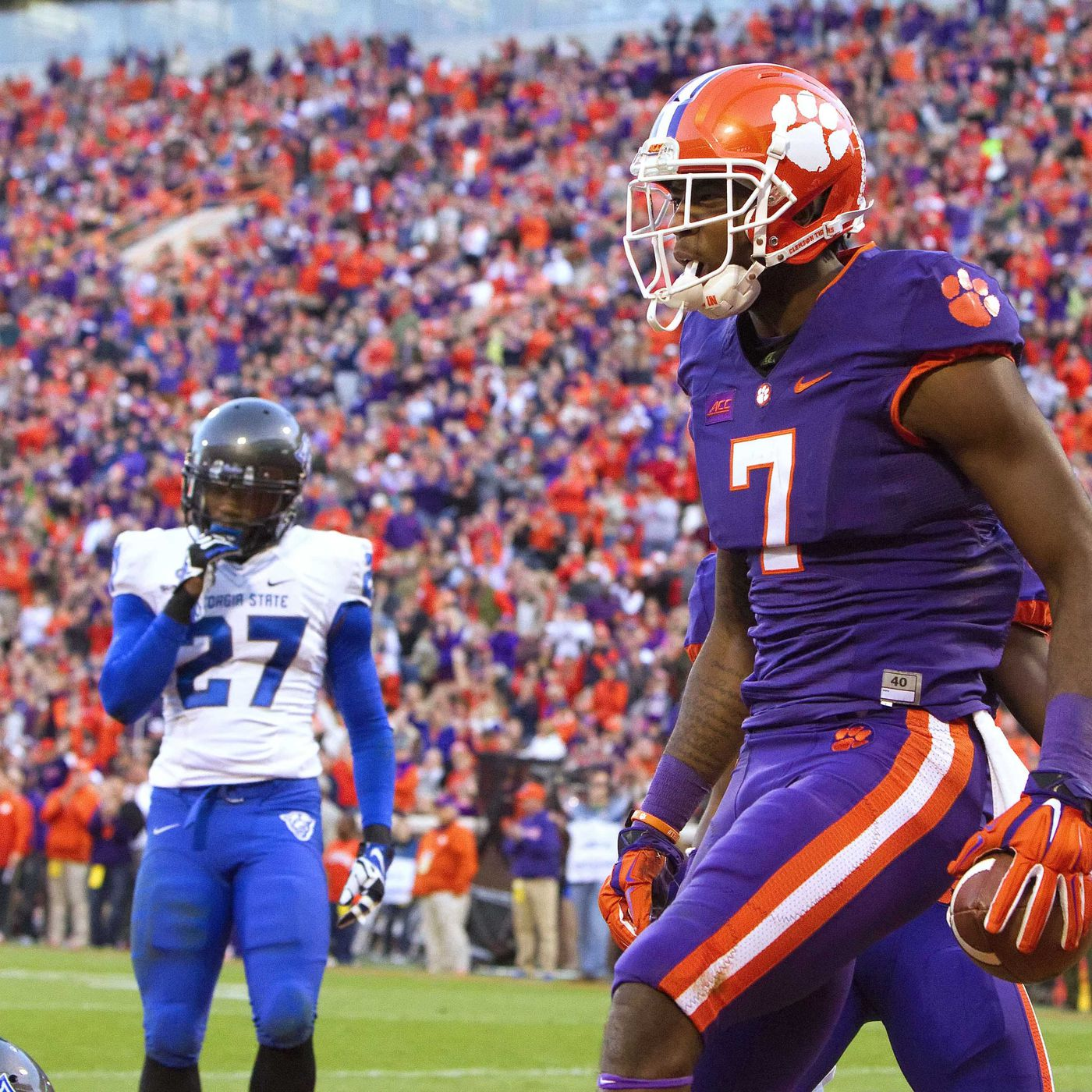 Clemson Vs Georgia Tech Tv Schedule Game Time 2017 Nfl Draft Prospects Niners Nation