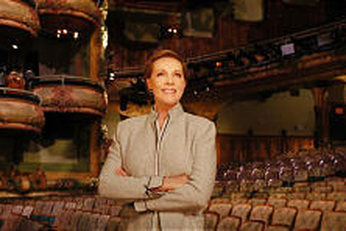 """Julie Andrews is the host of """"Broadway."""""""