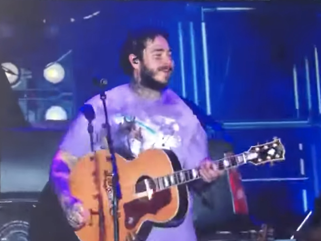 Post Malone, Twenty One Pilots collab on 'Don't Look Back in Anger' cover