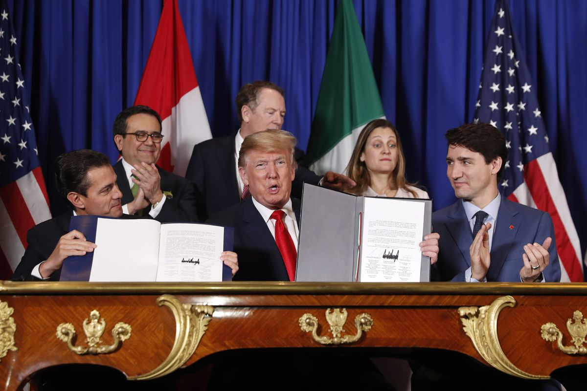 USMCA, the new trade deal between the US, Canada, and Mexico