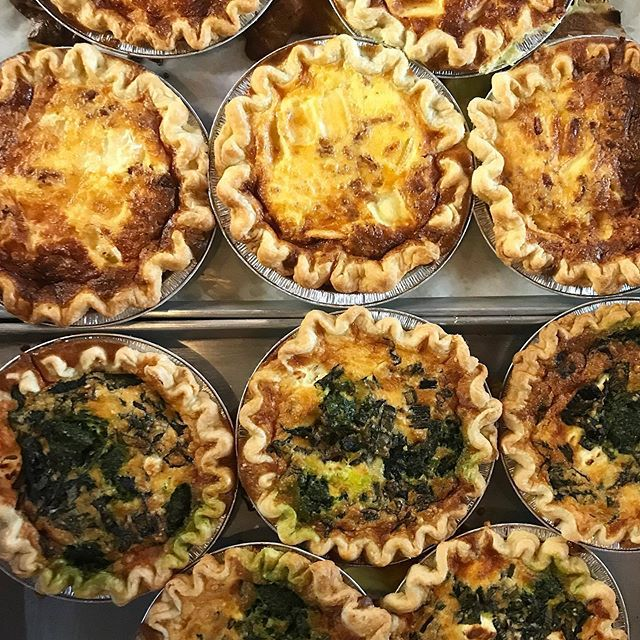 Six different quiches