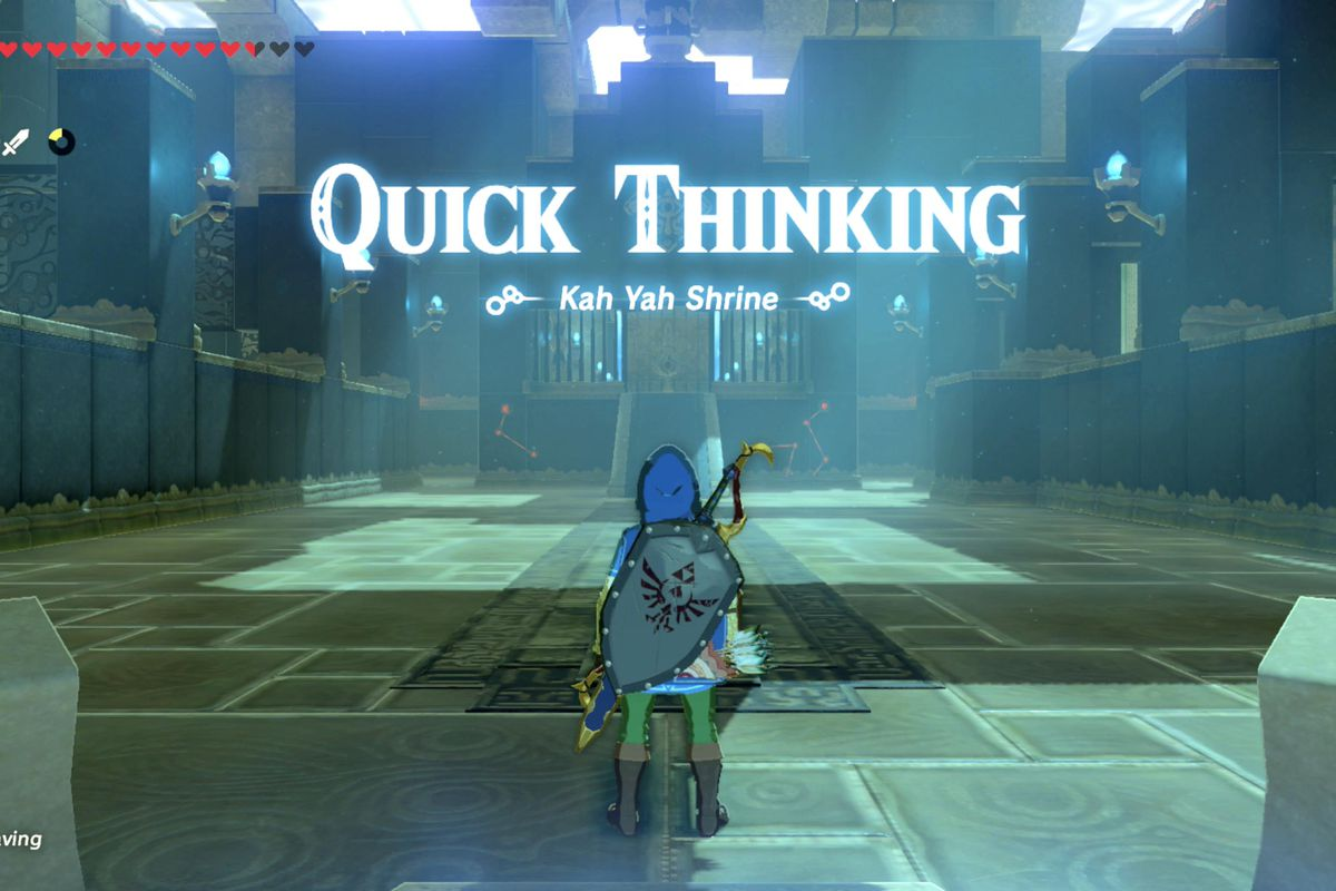 Zelda Breath Of The Wild Guide A Fragmented Monument Shrine Quest