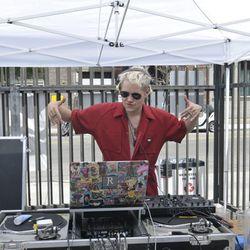 DJ John Renaud in the house.
