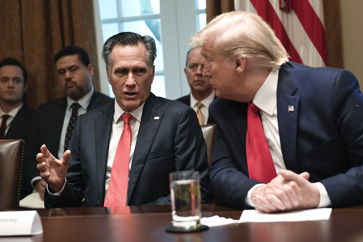 president mitt romney Why did Mitt Romney meet with Donald Trump twice in two days