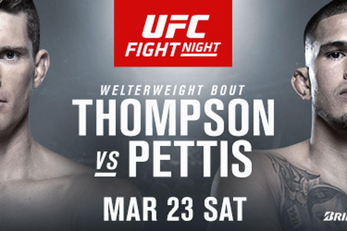 UFC Nashville tickets: Seats for sale online for 'Thompson