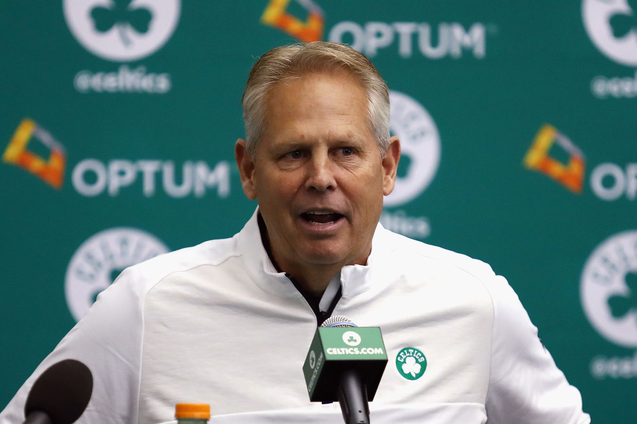 Danny Ainge has a lot of options this offseason
