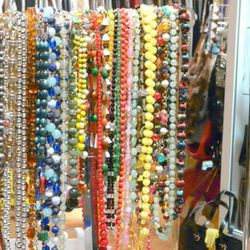 Loads of statement necklaces at Daybreak
