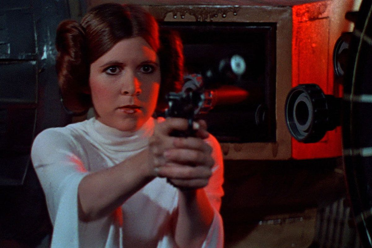 Princess Leia/Carrie Fisher